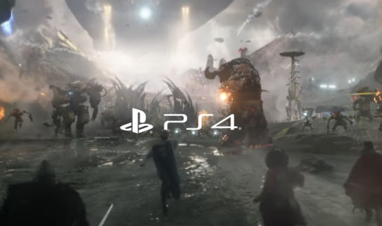 The king is a new live action playstation trailer featuring god of war