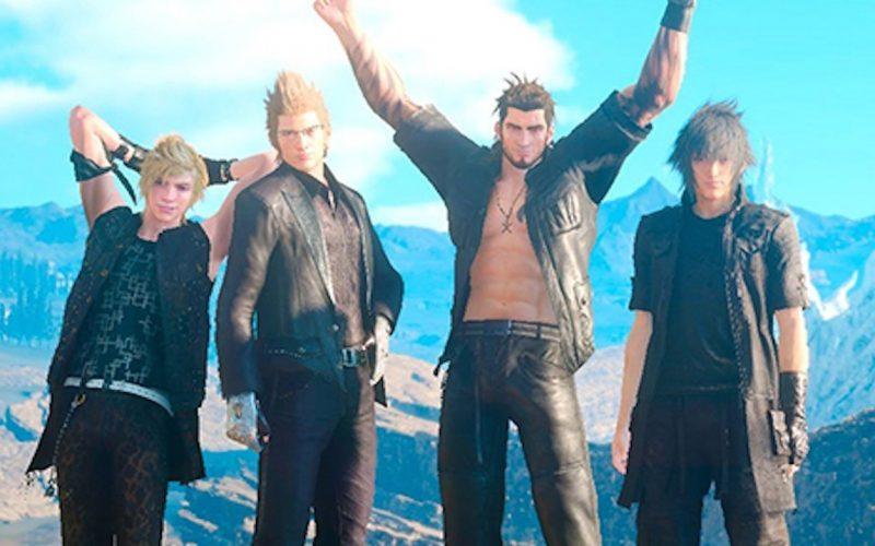 Image result for Final fantasy 15 Boys